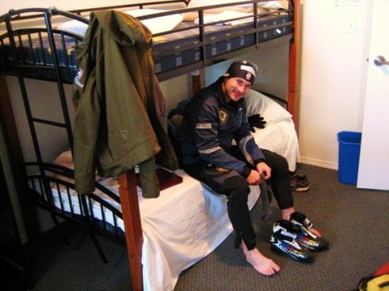 Matt Liebsch in the Same Sun Hostel Silver Star