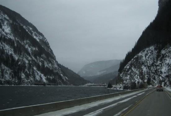 Columbia River outside Revelstoke