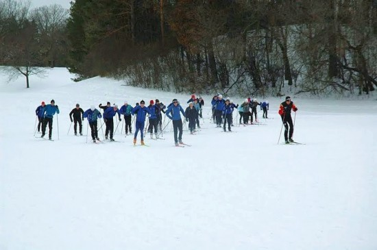 how far can you make it on one ski?