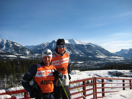 Gregg and Kuzzy - Canmore '08