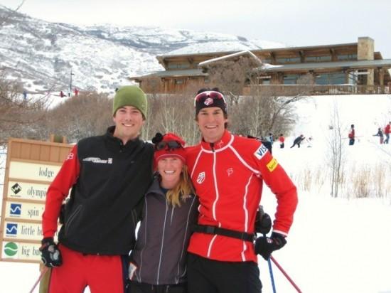 Jake, Jenny, Kuzzy (are we really that tall?)