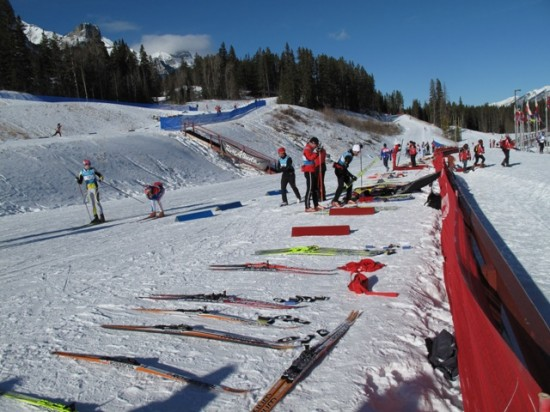 Testing skis, wax, structure to make the fastest boards possible.