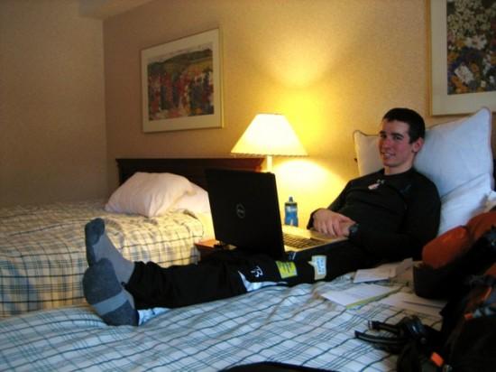Roommate Noah Hoffman
