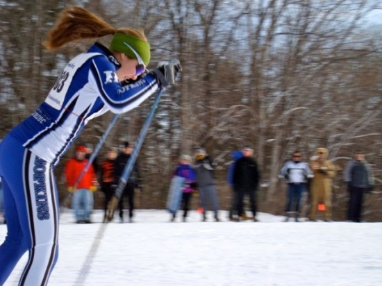 Sarah Benton will join her brother Connor and Hopkins boys team at State