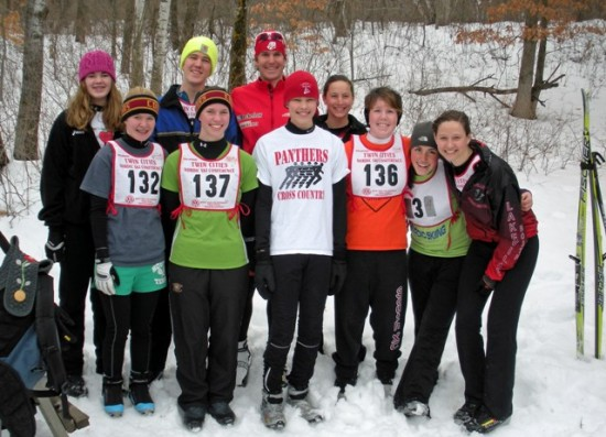 Lakeville High School skiers